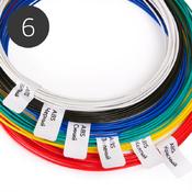 Пластик для 3D ручки, набор из 6 цветов