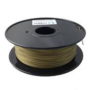 PLA пластик Bronze 1.75мм 1кг.